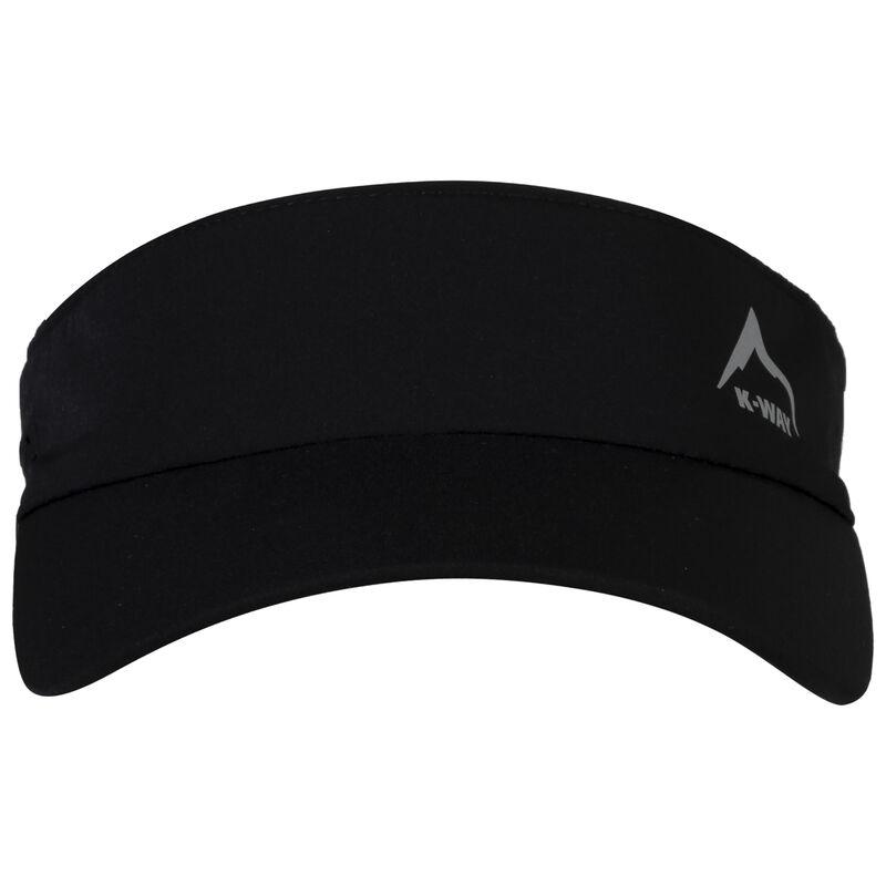 K-Way Dash Stretch Visor -  black-black
