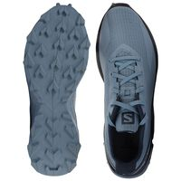 Salomon Men's Alphacross Blast Shoe  -  iceblue-charcoal