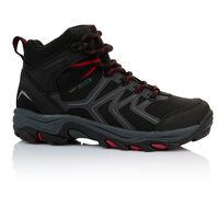 K-Way Kids Amazon Mid Boot  -  black-red