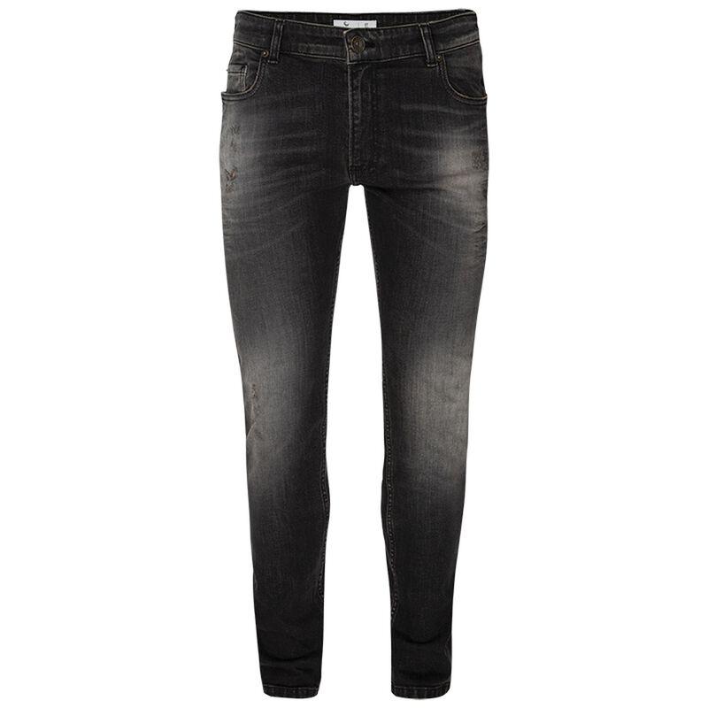 Nash Men's Tapered Leg Denim -  black