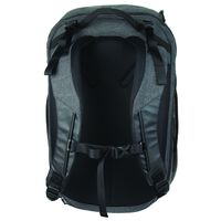 K-Way Bureau Laptop Daypack -  black-charcoal