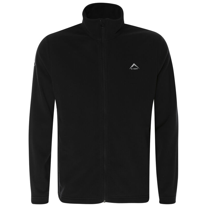K-Way Men's Fleece -  black