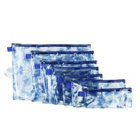 Travelon Set of 7 Packing Envelopes -  blue