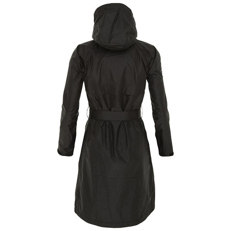 K-Way Women's Austru Rain Coat -  black