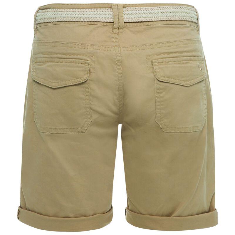 Callia Women's Belted Shorts -  lightkhaki-lightkhaki