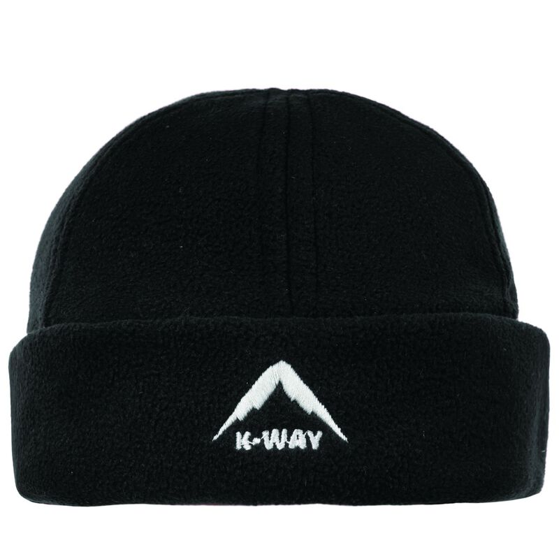 K-Way Fleece Beanie -  black