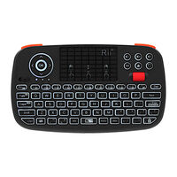 Rii Bluetooth 4.0 Wireless Keyboard Mini -  black