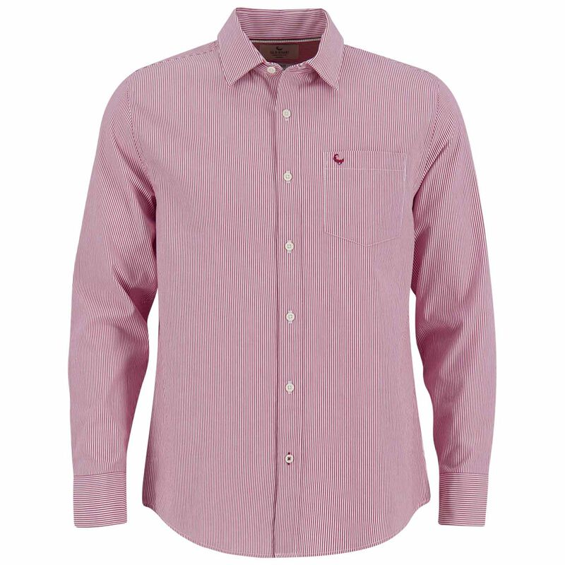 Old Khaki Men's Darryl Shirt  -  red