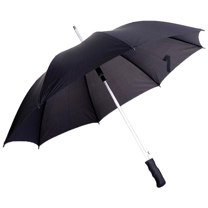 Umbrella Man 23 Aluminium Straight Umbrella -  black