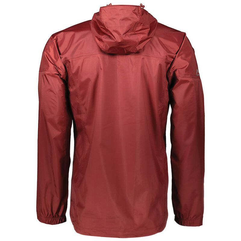 K-Way Men's Rainstorm Jacket -  burgundy-copper