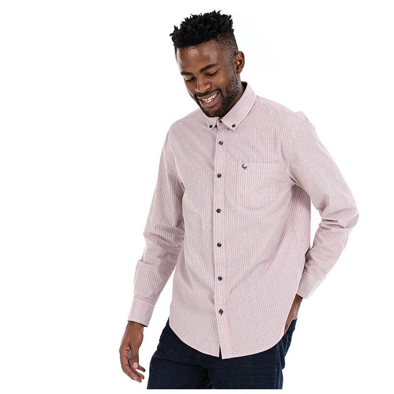 Calvin Men's Regular Fit Shirt -  red-white