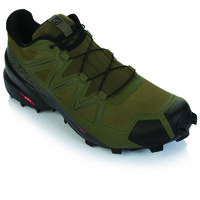 Salomon Men's Speedcross 5 Shoe -  olive-black