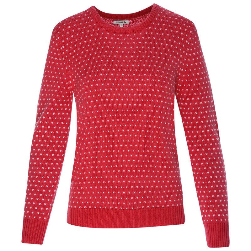 Valerie Women's Pullover -  pink-white