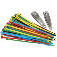Trav Secure Cable Ti -  assorted