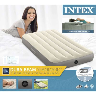 Intex Deluxe Single-High Dura-Beam Airbed