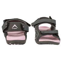 K-Way Kids Stepper Sandal -  charcoal-pink
