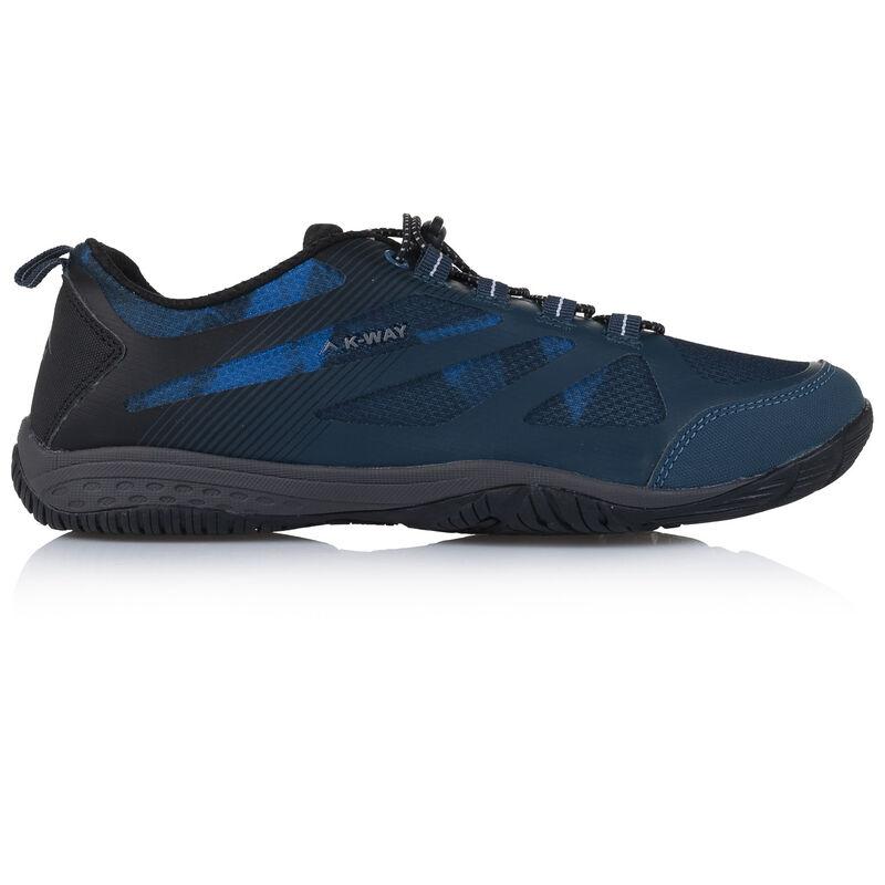 K-Way Men's Rift Shoe -  seablue-black