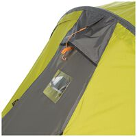 K-Way Expedition Series Basecamp 3 Person Tent -  lime-charcoal