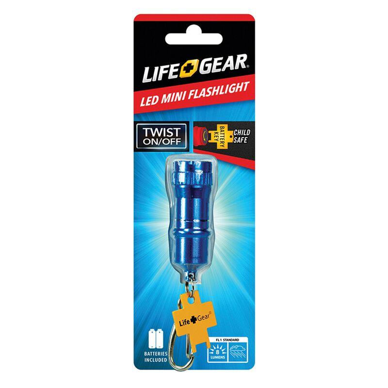 Life+Gear Mini Flashlight -  blue