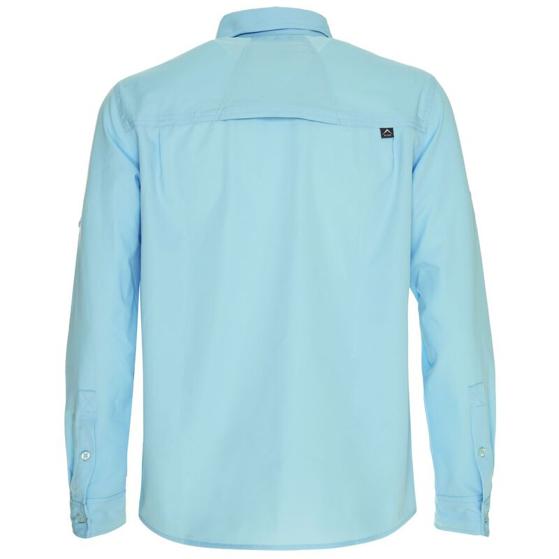 K-Way Men's Explorer Tredou Long Sleeve Shirt  -  iceblue