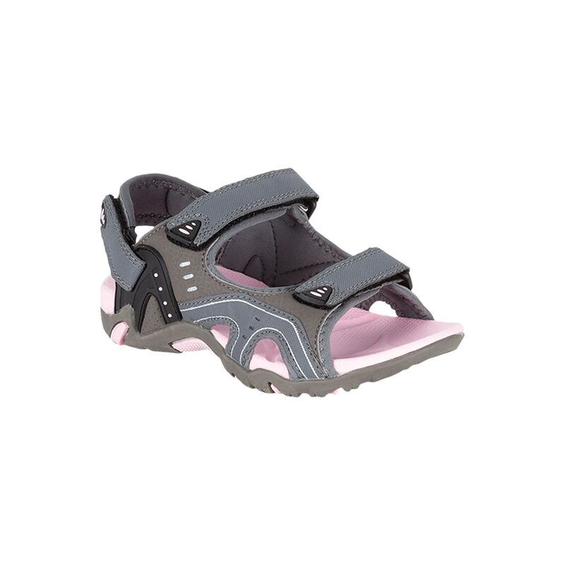K-Way Kids Stepper Sandal -  charcoal-pink
