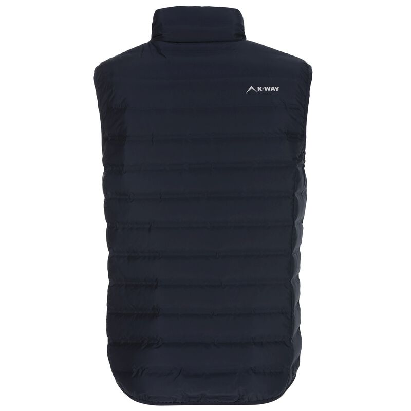 K-Way Men's Urko Re:Down Vest -  navy