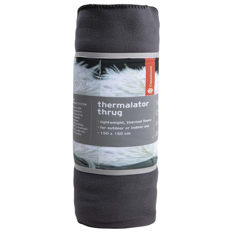 Cape Union Thermalator Thrug  -  charcoal