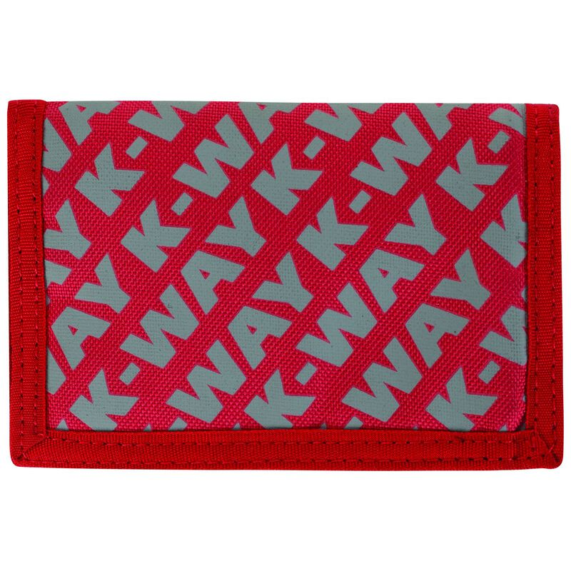 K-Way Utility Wallet -  red-grey