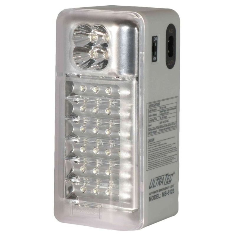 Ultratec Multifunction LED Emergency/Camping Lamp AC/DC -  nocolour