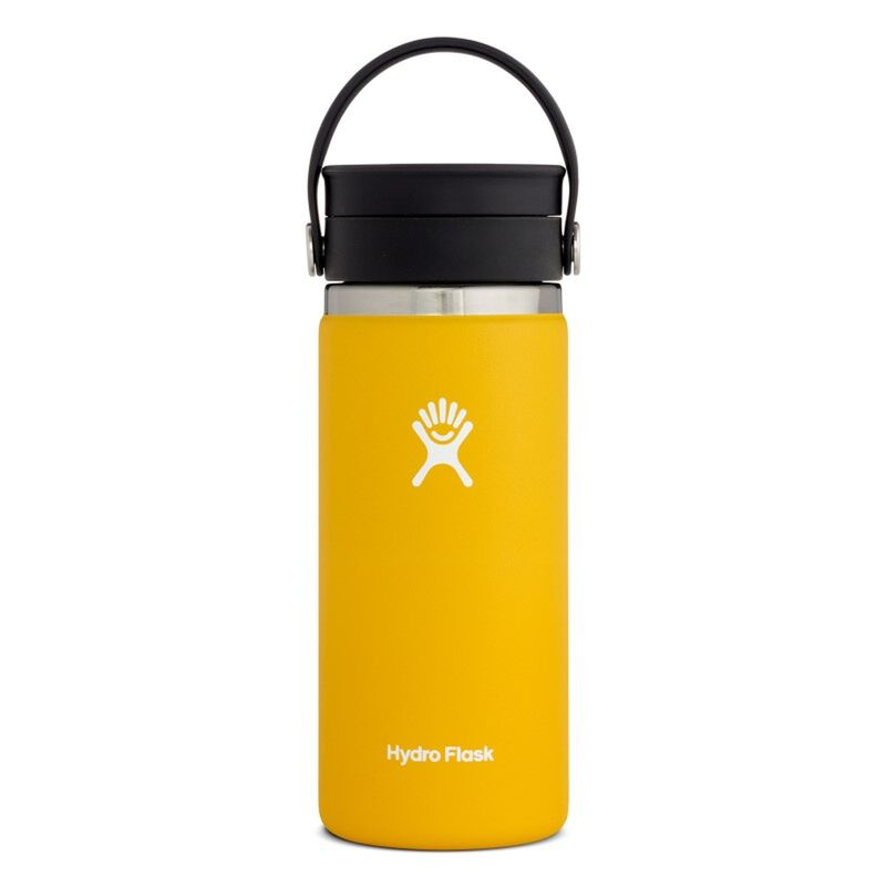Hydroflask 473ml Wide Mouth Flex Sip Lid Coffee Mug -  yellow