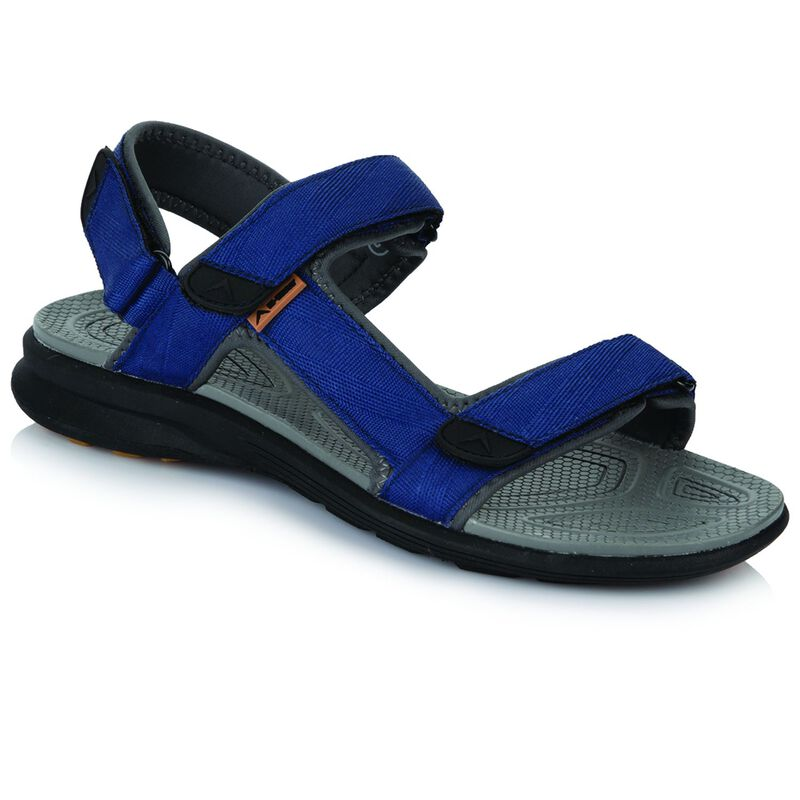K-Way Men's Re-Fresh Sandal -  blue-black