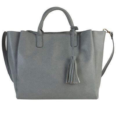 Clementine Vegan Leather Shopper