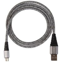 Birst Woven Micro USB Cable -  grey