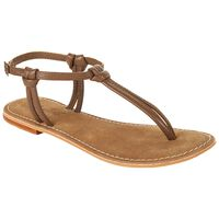 Rare Earth Women's Raina Thong -  brown
