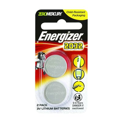 Energizer Lithium Coin 2032 2 pack