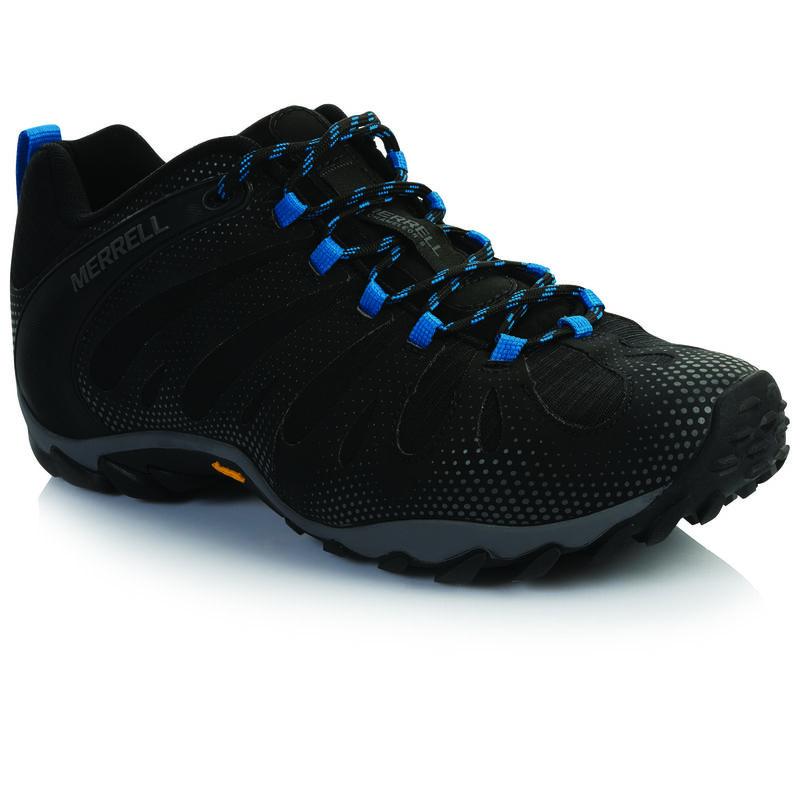 Merrell Men's Chameleon 8 Flux Shoe  -  black-royal