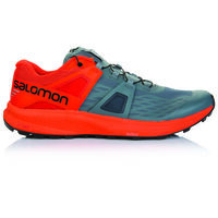 Salomon Men's Ultra Pro Shoe  -  grey-red