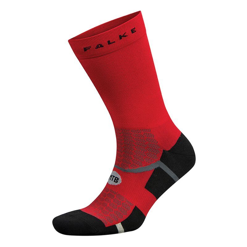 Falke Mountain Bike Sock -  black-red