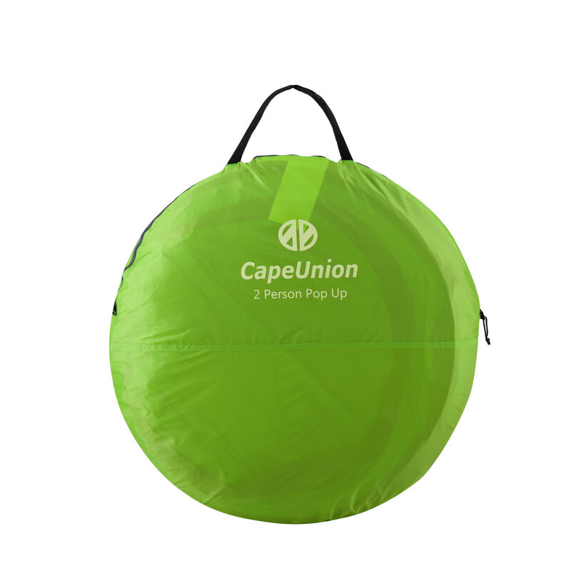 Cape Union Pop Up Two Person Tent -  green-grey