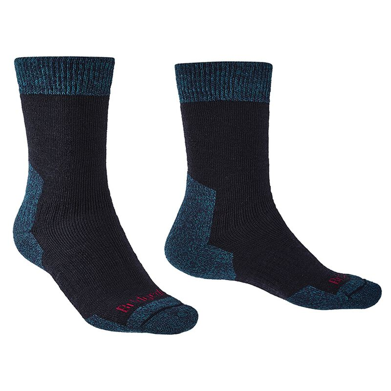 Bridgedale Men's Explorer Heavyweight Comfort Sock -  navy