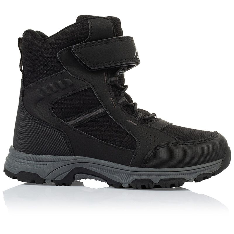 K-Way Kids' Glacier Boot -  black-black