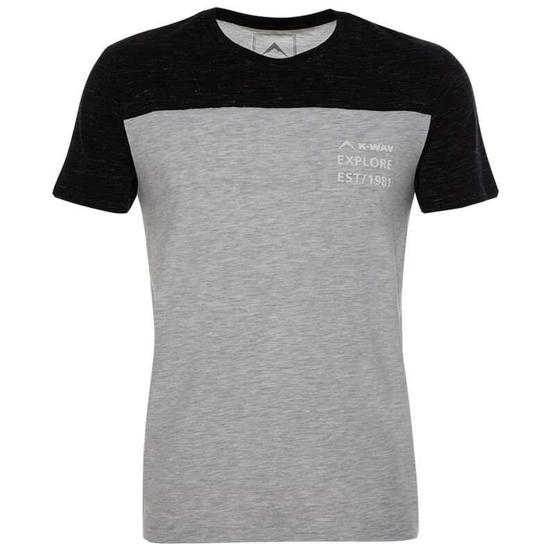 K-Way Men's Pocket S19.2 T-Shirt -  assorted