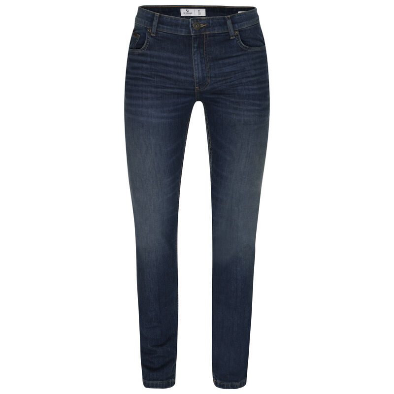 Old Khaki Men's Mayson Narrow Straight Denim -  midblue