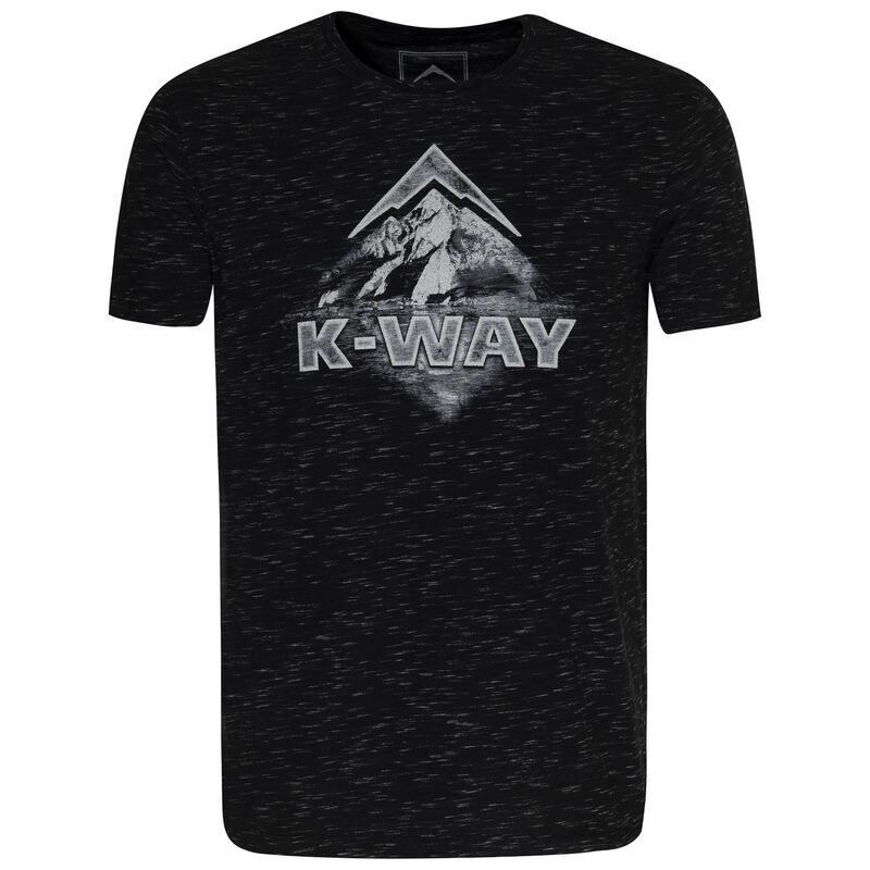 K-Way Men's Mirage T-Shirt S20 -  black