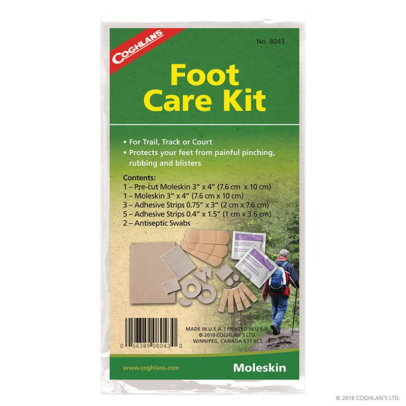 Coghlan's Foot Care Kit -  tan