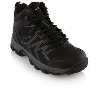 K-Way Kids Amazon Mid Boot  -  black-yellow