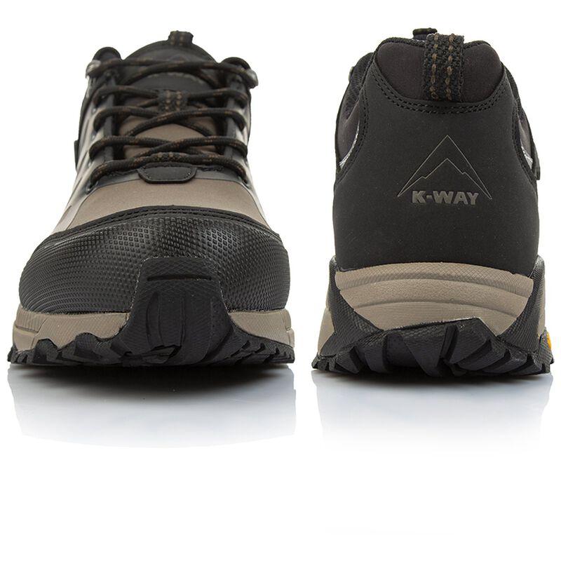 K-Way Men's Edge 2 Shoe  -  khaki-black