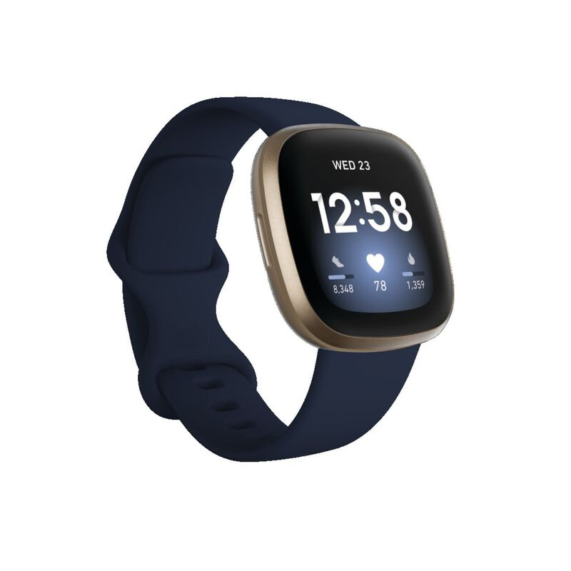 Fitbit Versa 3 -  navy-gold