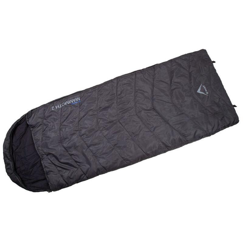 K-Way Mammoth 2.0 Sleeping Bag -  charcoal