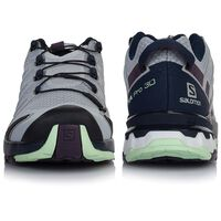 Salomon Women's XA Pro 3D V8 Shoe  -  lightgrey-grape